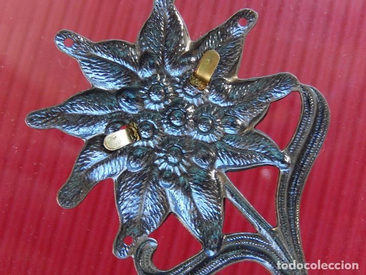 Militaria: Insignia / distintivo. Edelweiss. Tropas de montaña. Utilizado por las tropas alemanas y austriacas - Foto 8 - 97564635