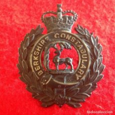 Militaria: PRECIOSA INSIGNIA INGLESA, DE GORRO BOBY, INGLES, 7,6X6 CM. BUEN EJEMPLAR, VER FOTOS.. Lote 98619179