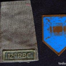 Militaria: DISTINTIVO TRANSMISIONES Y HOMBRERA. Lote 98621435