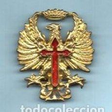 Militaria: AGUILA INSIGNIA DEL EJERCITO, EPOCA DE FRANCO, 45 MM. X 40 MM.. Lote 98801795