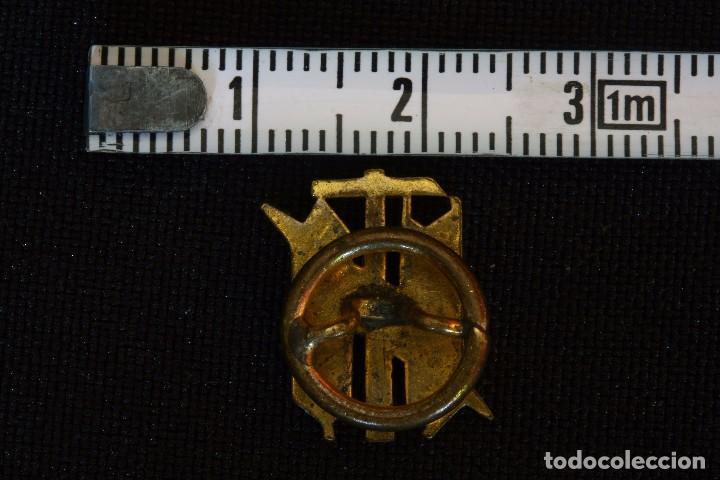 Militaria: SINDICATO VERTICAL VIEJA INSIGNIA-PIN DE OJAL - Foto 2 - 98814375
