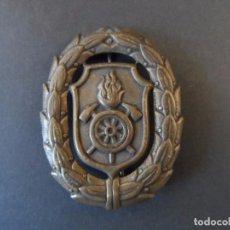 Militaria: PLACA AL MERITO EN EL SERVICIO . CUERPO DE BOMBEROS . ALEMANIA. AÑOS 50-60. Lote 99954455