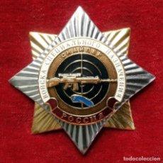 Militaria: INSIGNIA RUSA DE FRANCOTIRADOR SNIPER TROPAS ESPECIALES PARACAIDISTAS RUSIA. Lote 100047647