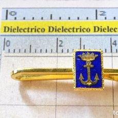 Militaria: ANTIGUO ALFILER DE CORBATA MILITAR. PILLACORBATAS. ARMADA ESPAÑOLA MARINA. . Lote 100393611