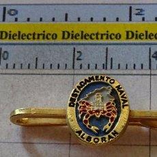 Militaria: ANTIGUO ALFILER DE CORBATA MILITAR. PILLACORBATAS. ARMADA ESPAÑOLA MARINA DESTACAMENTO NAVAL ALBORAN. Lote 100393719
