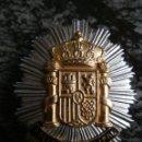 Militaria: ANTIGUA PLACA POLICIA MUNICIPAL,GENERICA. 7 CMS.. Lote 100425863
