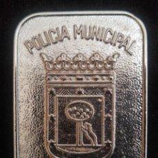Militaria: PLACA ACADEMIA POLICÍA MUNICIPAL DE MADRID. Lote 195274526
