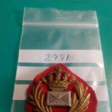 Militaria: EMBLEMA INSIGNIA DISTINTIVO DE CORREOS ALFONSO XIII. Lote 100501767