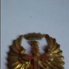 Militaria: AGUILA DE SAN JUAN, CON CORONA Y CRUZ DE SANTIAGO 5 X 4,5 CM. Lote 100872879