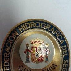 Militaria: GUARDA JURADO. PLACA DE GUARDERÍA DEL M.O.P.U.. Lote 101595983