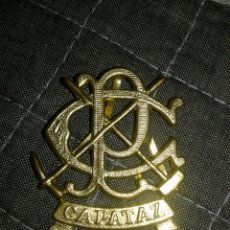 Militaria: INSIGNIA PEÓN CAMINERO CAPATAZ ALFONSO 13 / REPÚBLICA. Lote 222385261