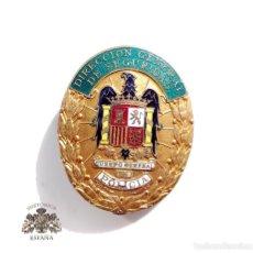 Militaria: PLACA CUERPO GENERAL DE POLICÍA - MUY BUEN ESTADO - DIRECCIÓN GENERAL DE SEGURIDAD. Lote 102640799