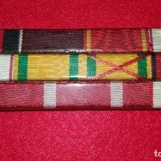 Militaria: PASADOR DE MEDALLAS. Lote 103140879