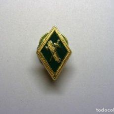 Militaria: PIN INSIGNIA ROMBO GUARDIA CIVIL. VERDE.. Lote 126470139