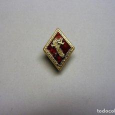 Militaria: PIN INSIGNIA ROMBO GUARDIA CIVIL. ROJO.. Lote 159531400