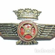 Militaria: INSIGNIA TIPO ROKISKI DE AVIACION, EPOCA FRANCO, MIDE 4,3 CMS REVERSO CON ALFILER. VER TODAS LAS FOT. Lote 103380603