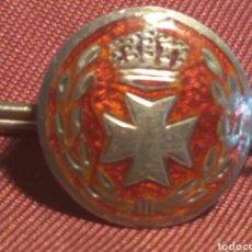 Militaria: PISACORBATAS PLATA SANIDAD MILITAR ALFONSO XIII. Lote 103531431