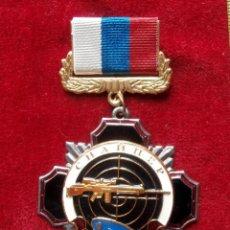 Militaria: INSIGNIA RUSA DE FRANCOTIRADOR SNIPER TROPAS AEROTRANSPORTADAS RUSIA. Lote 103628046