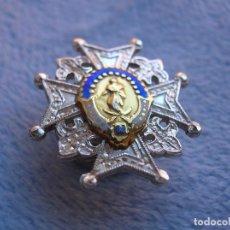 Militaria: ANTIGUA Y BELLÍSIMA GRAN CRUZ DE LA ORDEN DE CARLOS III. INSIGNIA PARA SOLAPA. GRAN TAMAÑO.. Lote 103915887