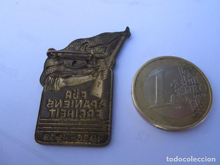 Militaria: insignia conmemorativa , brigadas internacionales alemanas , republica española 1936 - 1939 - Foto 2 - 104129355