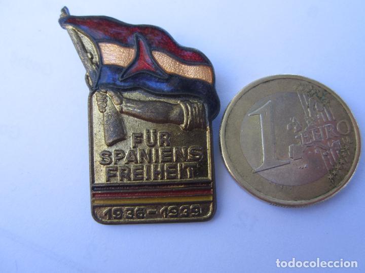 Militaria: insignia conmemorativa , brigadas internacionales alemanas , republica española 1936 - 1939 - Foto 3 - 104129355