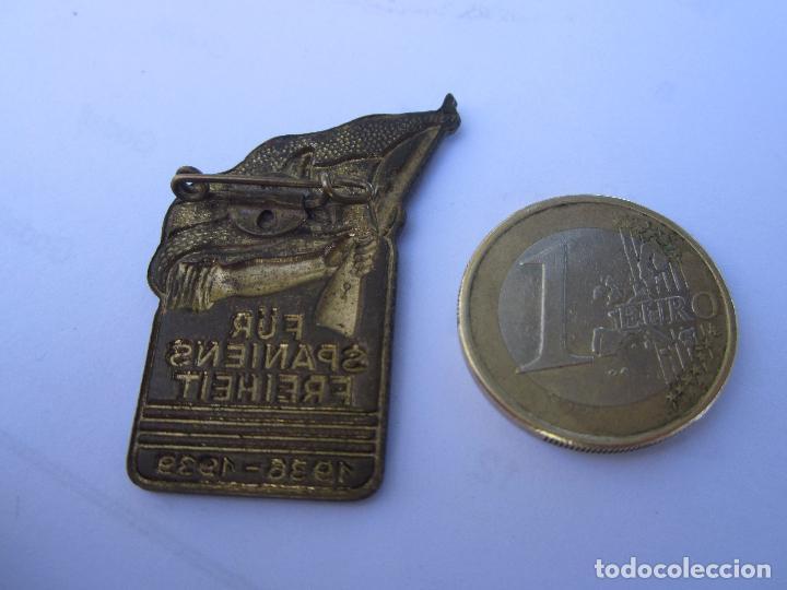 Militaria: insignia conmemorativa , brigadas internacionales alemanas , republica española 1936 - 1939 - Foto 4 - 104129355