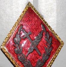 Militaria: ROMBO OFICINAS MILITARES 2º MODELO ESMALTADO REALZADO. Lote 104666843
