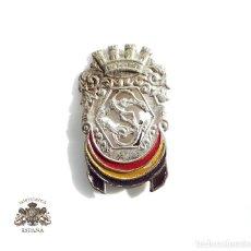 Militaria: DISTINTIVO PARA GORRA CUERPO DE SEGURIDAD - REPÚBLICA - 3,8 M DE ALTO. Lote 104981307
