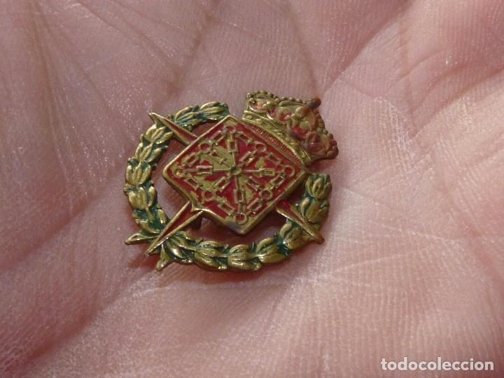 Militaria: Rara insignia militar escudo Navarra Cruz Laureada de San Fernando ejercito imperdible guerra civil - Foto 2 - 105171563