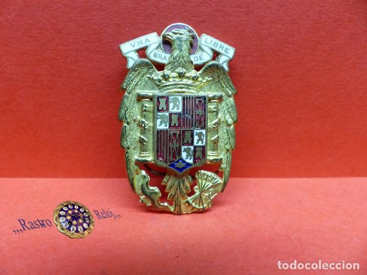 ,,,INSIGNIA UNIFORME ,,,GUARDIA PERSONAL DE FRANCO,,,1941,,, (Militar - Insignias Militares Españolas y Pins)