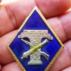Militaria: ANTIGUO ROMBO DEL CUERPO AUXILIAR DE AYUDANTES INGENIEROS. ARMAMENTO Y CONSTRUCCIÓN. CAIAC.. Lote 105925611