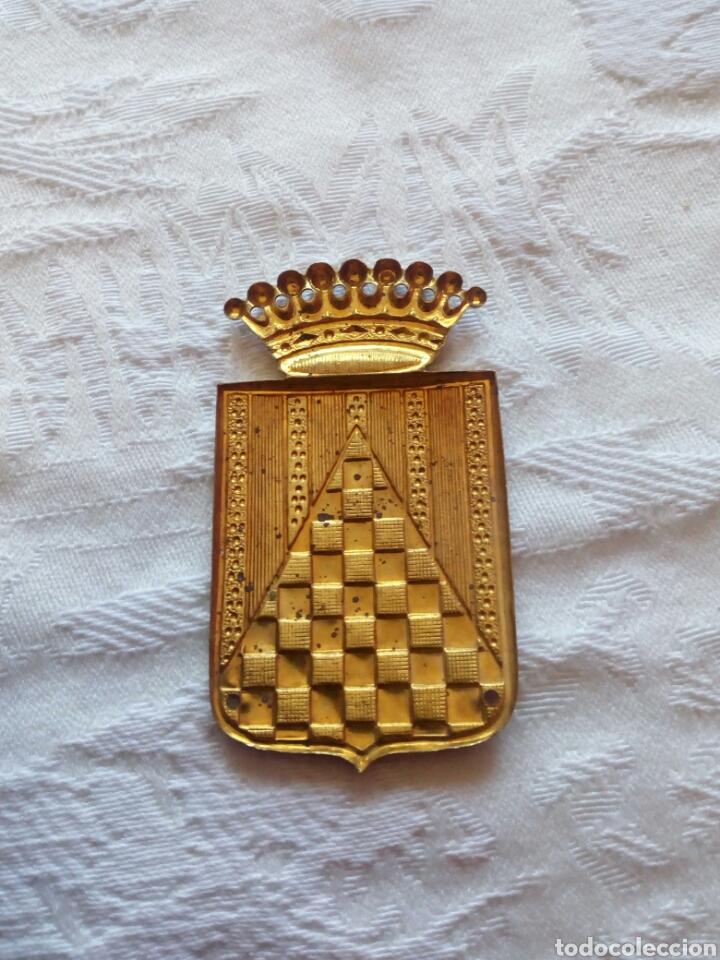 Militaria: Insignia militar cuerpo ejercito urgell.post guerra civil.franquista.infanteria.falange.nacional.seu - Foto 2 - 106618028