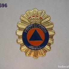 Militaria: INSIGNIA - PLACA DE CARTERA DE PROTECCIÓN CIVIL. ENVÍO GRATUITO (CERTIFICADO).. Lote 106638507