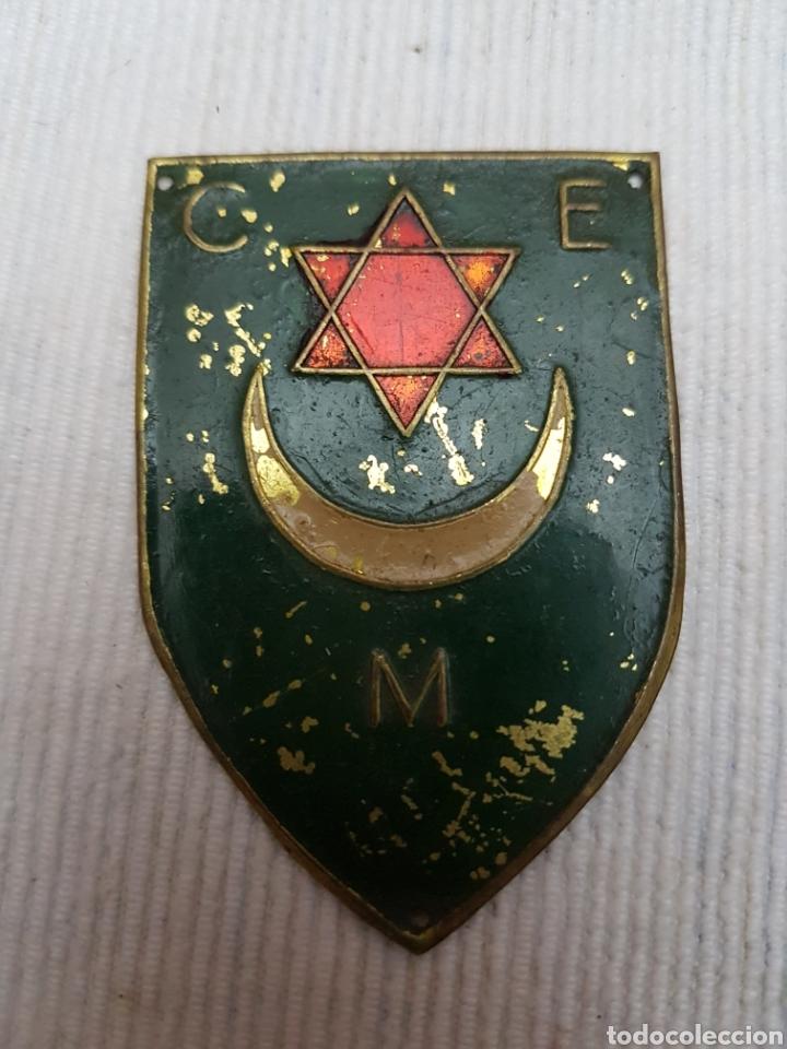 PLACA BRAZO CUERPO EJERCITO MARRUECOS GUERRA CIVIL (Militar - Insignias Militares Españolas y Pins)