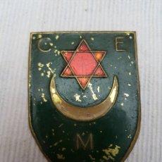 Militaria: PLACA BRAZO CUERPO EJERCITO MARRUECOS GUERRA CIVIL. Lote 107616114