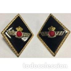 Militaria: ROMBOS PARA LA SOLAPA DEL EJÉRCITO DEL AIRE DE INGENIEROS . Lote 107793091