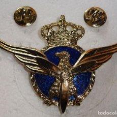 Militaria: PLACA EMBLEMA ROKISKI INSIGNIA PILOTO DE AVIACION CIVIL, MODELO AÑOS 80 90. ESMALTADO. . Lote 108257895