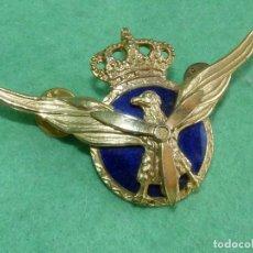 Militaria: INSIGNIA AVIACION CIVIL EMBLEMA ROKISKI PLACA PILOTO AÑOS 80 90 ESMALTADO COLECCION AEROLINEAS. Lote 109527507