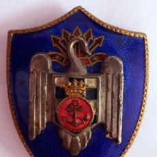 Militaria: INSIGNIA DE LAS MILICIAS UNIVERSITARIAS DE LA MARINA ÉPOCA DE FRANCO . Lote 109762187