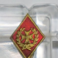 Militaria: INSIGNIA MILITAR DE ALFILER DE SANIDAD ESMALTADA. Lote 110508039