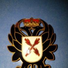 Militaria: ESPECTACULAR GRAN CHAPA ESMALTADA CARLISTAS CARLISTA GUERRA CIVIL. Lote 110771768