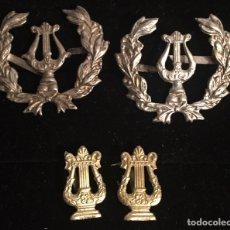 Militaria: ALFONSO XIII, EMBLEMAS DE MÚSICO MILITAR.. Lote 110891342