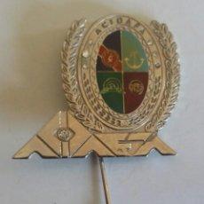 Militaria: INSIGINIA CONDECORACIÓN DE LA ASOCIACIÓN CIVIL DE DAMAS D LAS FUERZAS ARMADAS - ACIDAFA -PLATEADA. Lote 111866551