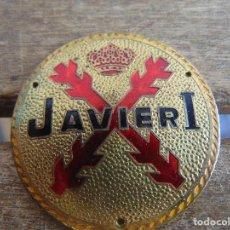 Militaria: INSIGNIA CARLISTA CARLISMO JAVIER I DE BOINA. Lote 178805598