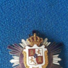 Militaria: ANTIGUA IDENTIFICACIÓN POLICIA MUNICIPAL EPOCA ALFONSINA. Lote 112783495