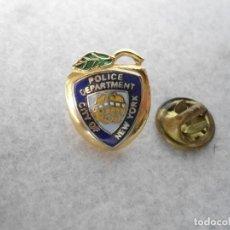 Militaria: PIN ESMALTADO DEPARTAMENTO DE POLICIA DE NUEVA-YORK. Lote 112879283