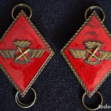 Militaria: PAREJA ROMBOS ROKISKI EMBUTIDOS. Lote 113301399