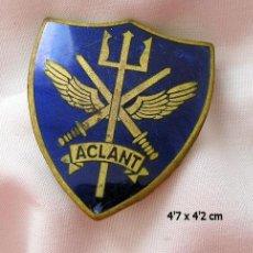 Militaria: INSIGNIA GRANDE ANTIGUA ACLANT COMANDO ATLANTICO NORTE NATO. Lote 113487031