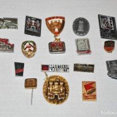 Militaria: LOTE 19 INSIGNIAS SOVIETICAS .TEMATICA-CASTILLO DE BREST.URSS. Lote 113647315