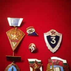 Militaria: INSIGNIAS COMUNISTA. CCCP. ORIGINALES.. Lote 113850187